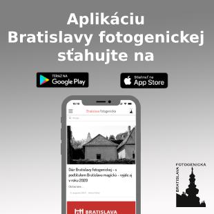 Aplikáca do mobilu: Bratislava fotogenická