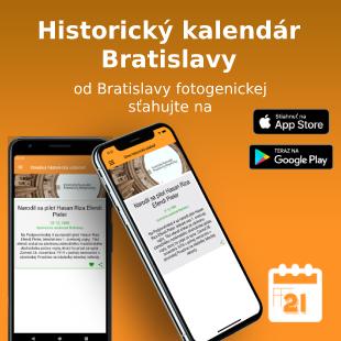 Historický kalendár Bratislavy App