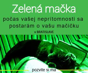 V Bratislave sa počas vašej neprítomnosti postarám o vašu mačičku