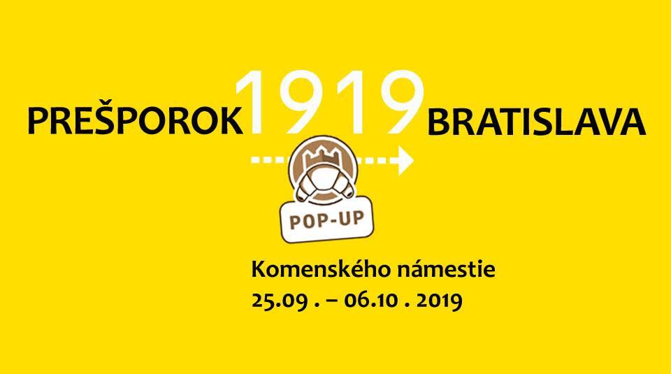 Z Prešporka do Bratislavy - 1919