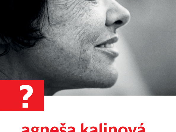 Diskusné stretnutie: Agneša Kalinová v rozhovore s Janou Juráňovou.