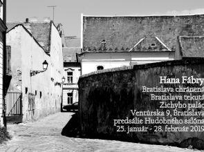 Hana Fábry a jej Bratislava chránená, Bratislava tekutá v Zichyho paláci