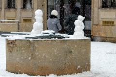 4 snehuliaci.