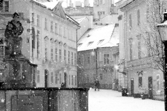 Január na Františkánskom námestí
