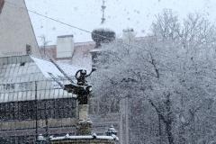 Ganymedes v zime.